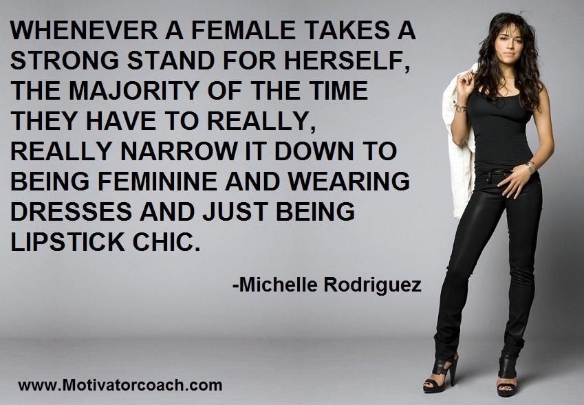 Michelle Rodriguez Quotes Quotesgram