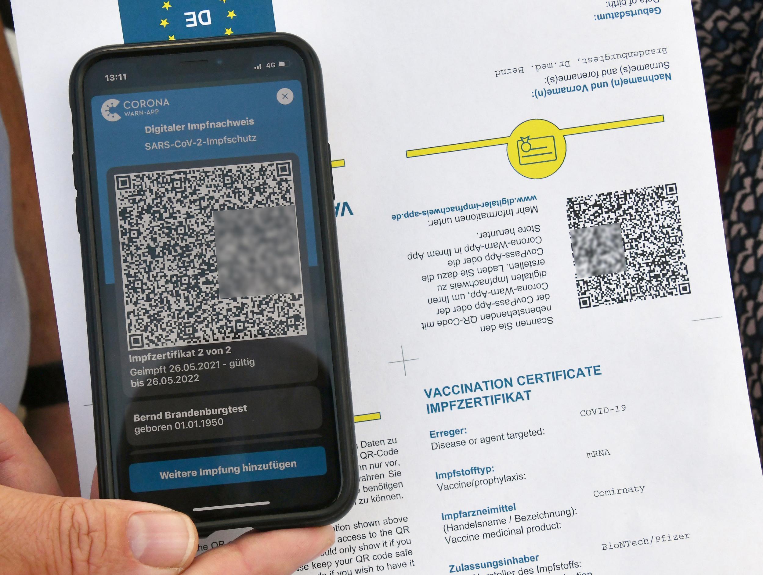Digitales Impfzertifikat So Funktionieren Die Impfnachweise In Der Apothe Pz Pharmazeutische Zeitung
