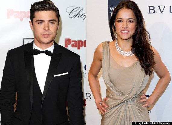 Zac Efron And Michelle Rodriguez Dating Pair Get Steamy On Holiday In Italy Video Huffpost Uk