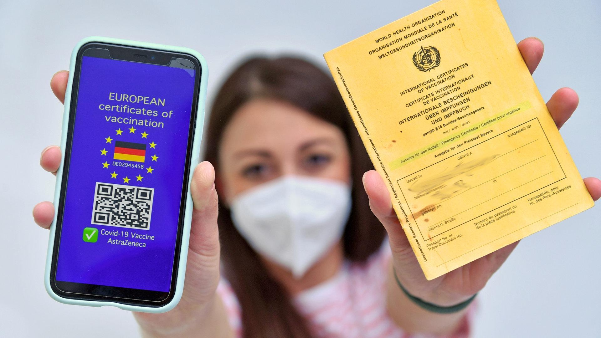 Digitaler Impfpass Wo Bekommt Man Ihn Wo Gilt Er Ndr De Ratgeber Gesundheit