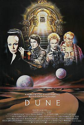 Dune Movie Poster 1984 Sci Fi Ebay