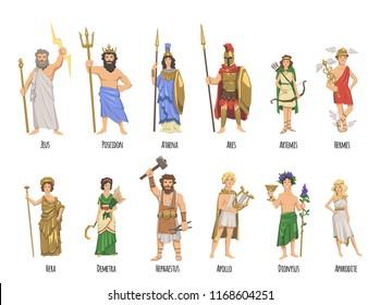 Olympian Greek Gods Images Stock Photos Vectors Shutterstock